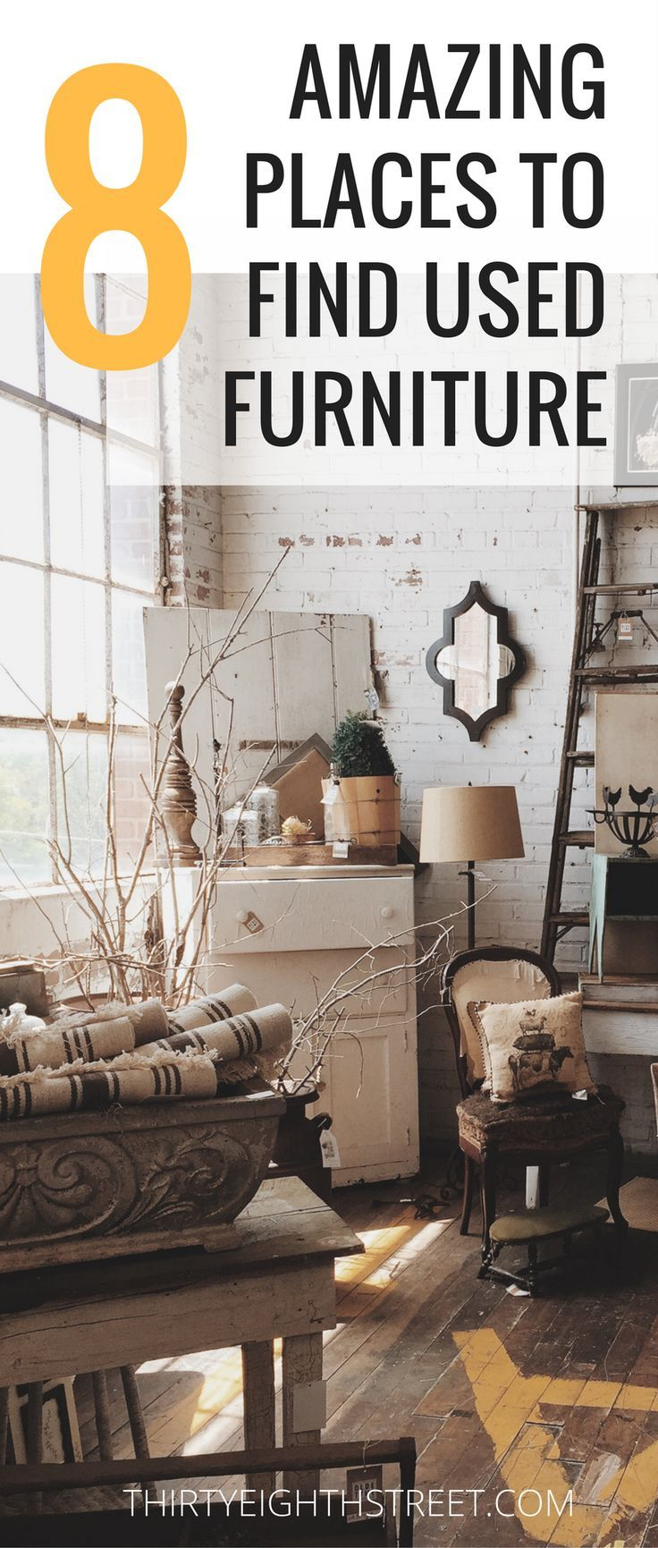 The Best Places To Find And Used Second Hand Furniture Diyhomedecor