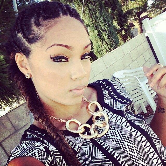 68 Best Pretty Girls Images On Pinterest Hairdos Braids