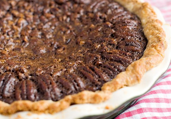 chocolate espresso pecan pie recipe | use real butter... Mmmm this ...