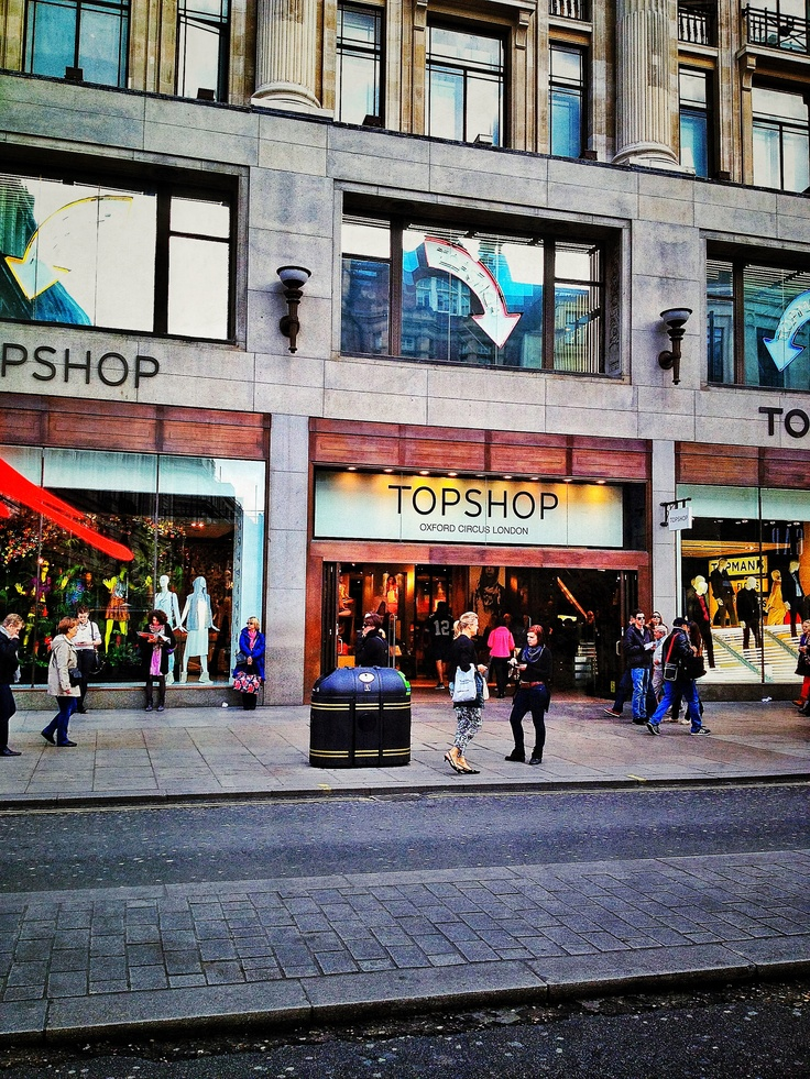 Topshop Oxford Street. favorite store in london<3<3
