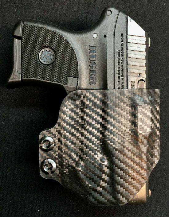 IWB holster for Ruger LCP with E-Series Viridian laser by Squid TacticalLoading that magazine is a pain! Get your Magazine speedloader today! http://www.amazon.com/shops/raeind
