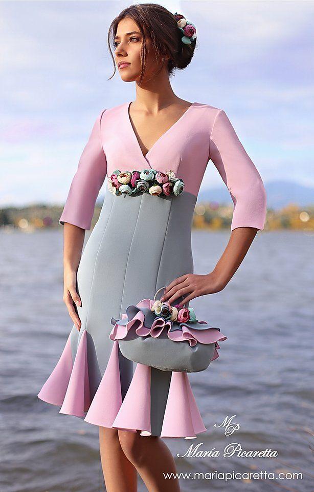 Vestidos Para Mama De Comunion En 2020 Vestidos Coctel Vestidos De Cóctel Vestidos De Fiesta