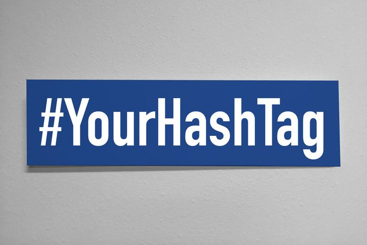 Social Media Signs: Custom Made Hashtag Wood Sign, 16x4 michigan programmatic search test