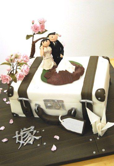 Koffertorte - Hochzeitstorte bestellen