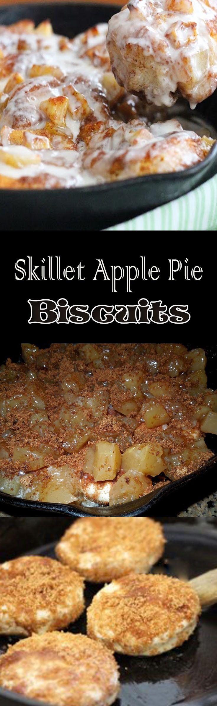 Skillet Apple Pie Biscuits                                                                                                                                                                                 More