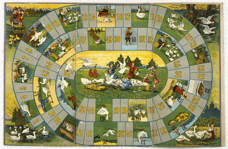 The Game of Goose | J W Spear & Sons Ltd c. 1910