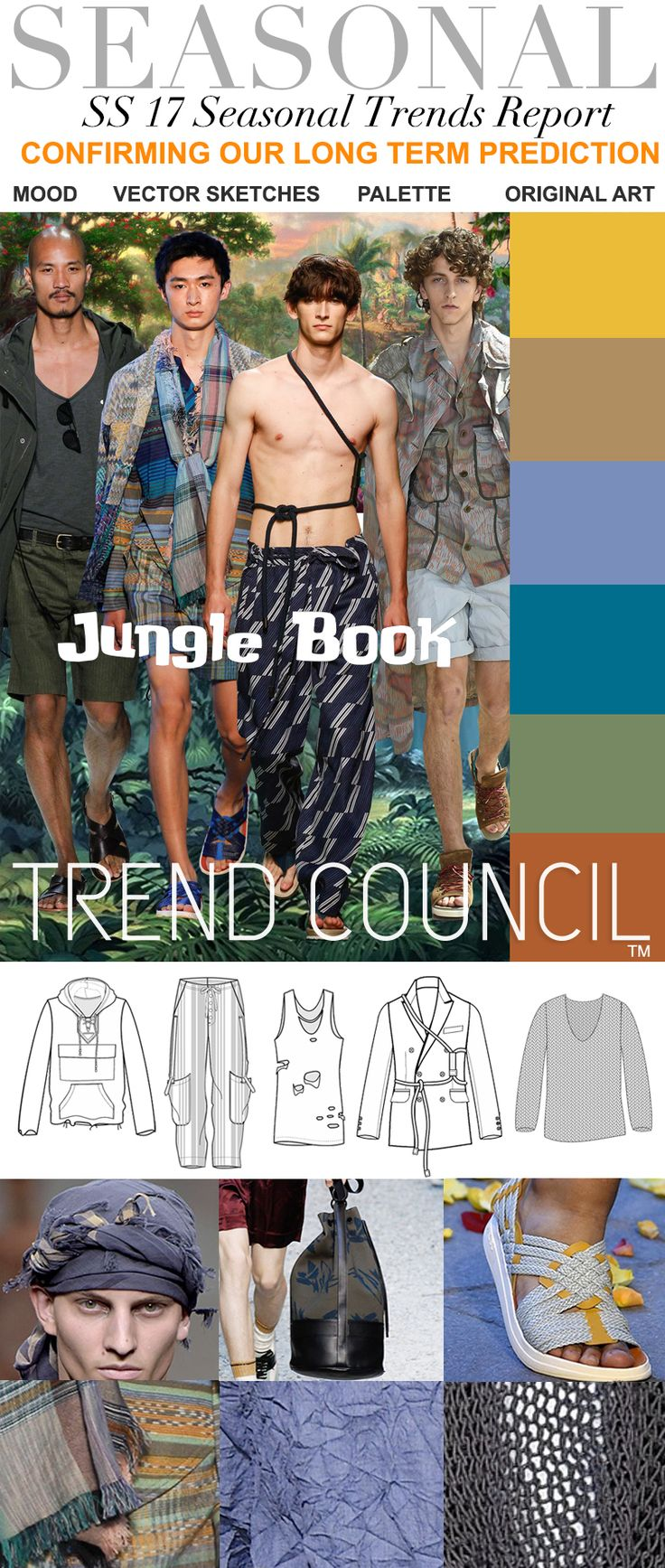 TREND COUNCIL S/S 2017 JUNGLE BOOK