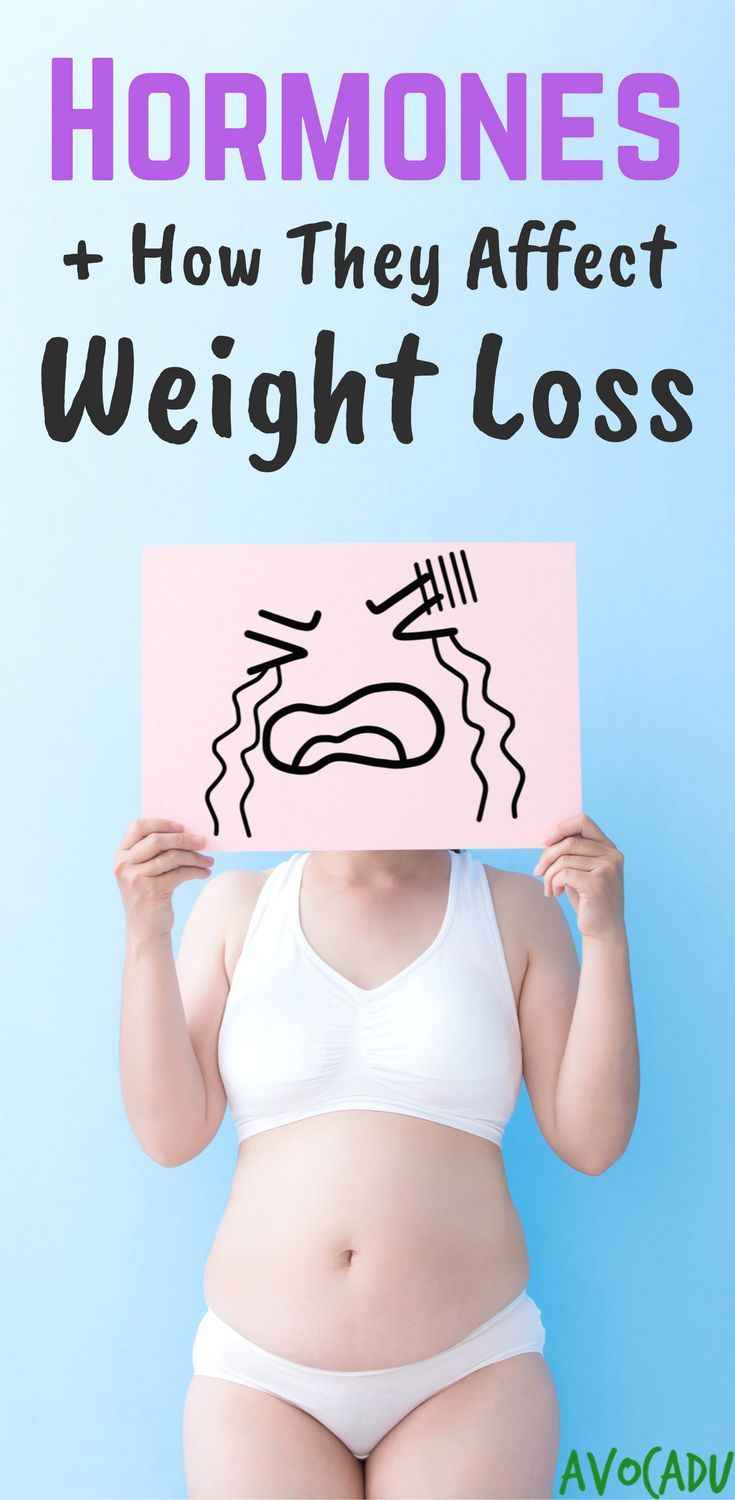 How hormones affect weight loss and how to reset hormones to lose weight fast | http://avocadu.com/how-hormones-affect-weight-loss/