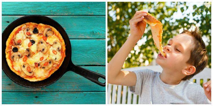 É a pizza do jeitinho que a gente ama, mas sem farinha branca nem forno. Aprenda essa versão light que os pequenos vão amar.