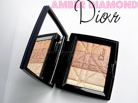 Dior Amber Diamond Shimmer Star review w/ photos and swatches.: Amber Diamond How, Beauty Reviews, Dior Amber, Photo, Swatch, Makeup Products
