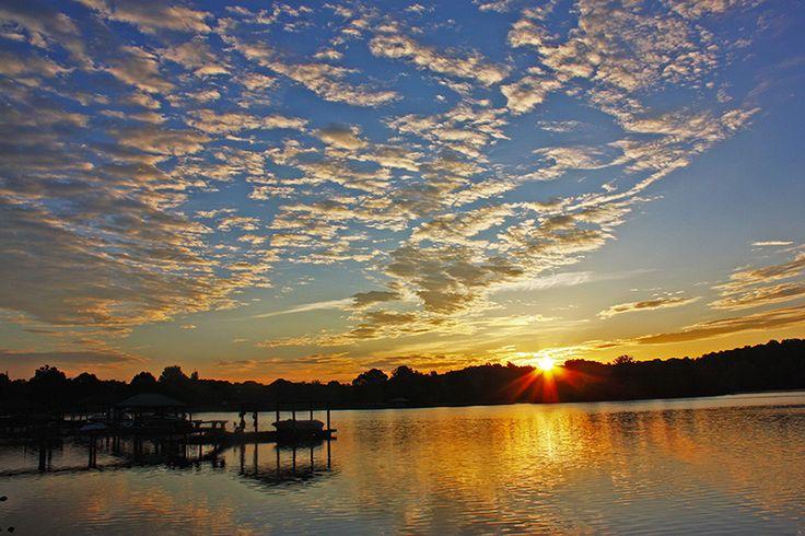 Sunrise on Lake Norman near Williamson Road