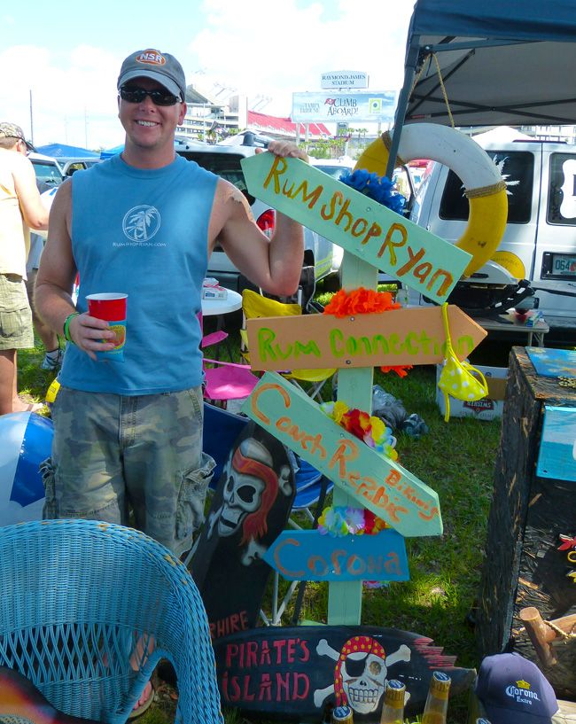 Kenny Chesney Concert Tailgating