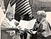 El rito de la «traditio anuli» durante la concelebración para la solemnidad de los santos Pedro y Pablo