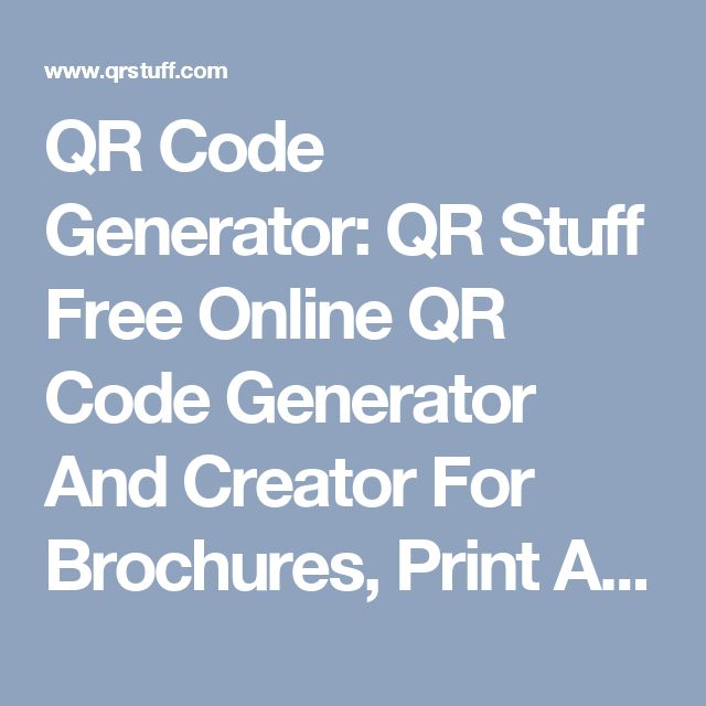 Qr code generator online on pinterest qr code maker free qr code