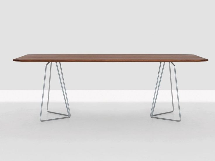 Hot Sale Simple Design Wood Top Dining Table With Metal Base For Home Use On Sale, View wood top metal dining table, Halsons Product Details from Foshan Shunde District Sangzi Import & Export Co., Ltd. on Alibaba.com