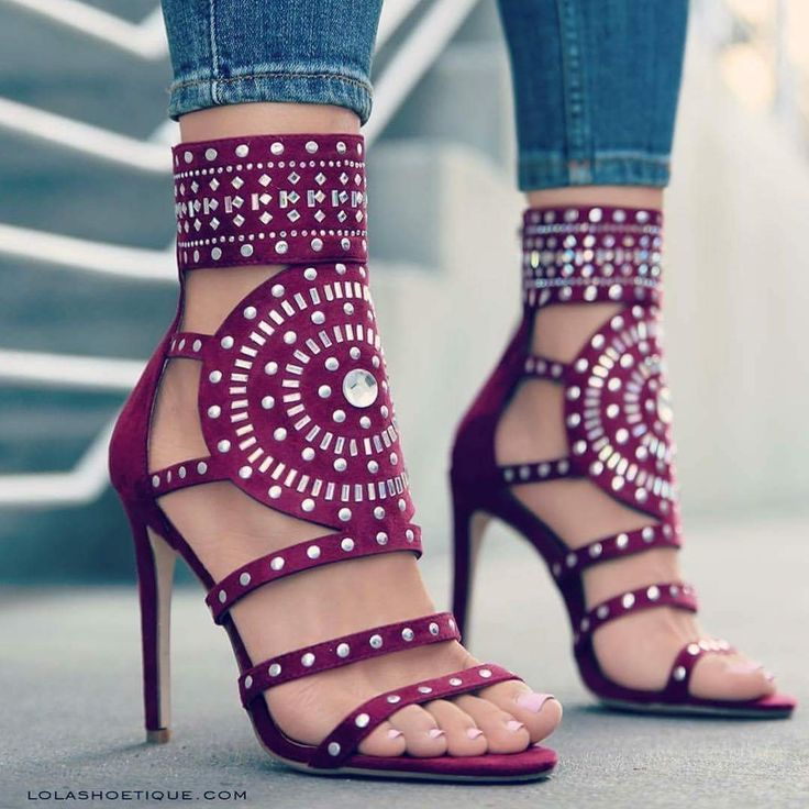 Stylist - love these bright and bold shoes. Maybe in a sandal or flat. I could make it happen.