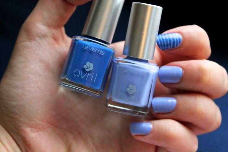 Vernis à ongles Lapis Lazuli n°65 #Avril #nails #nailpolish #bleu #blue #lapislazuli #7free #madeinfrance #makeup #vernis #ongles