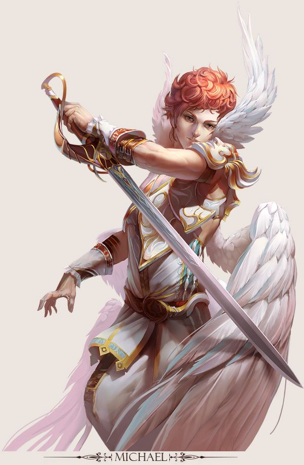 ✧ #characterconcepts ✧ MICHAEL - Stunning Game Characters by Hong Yu-Cheng