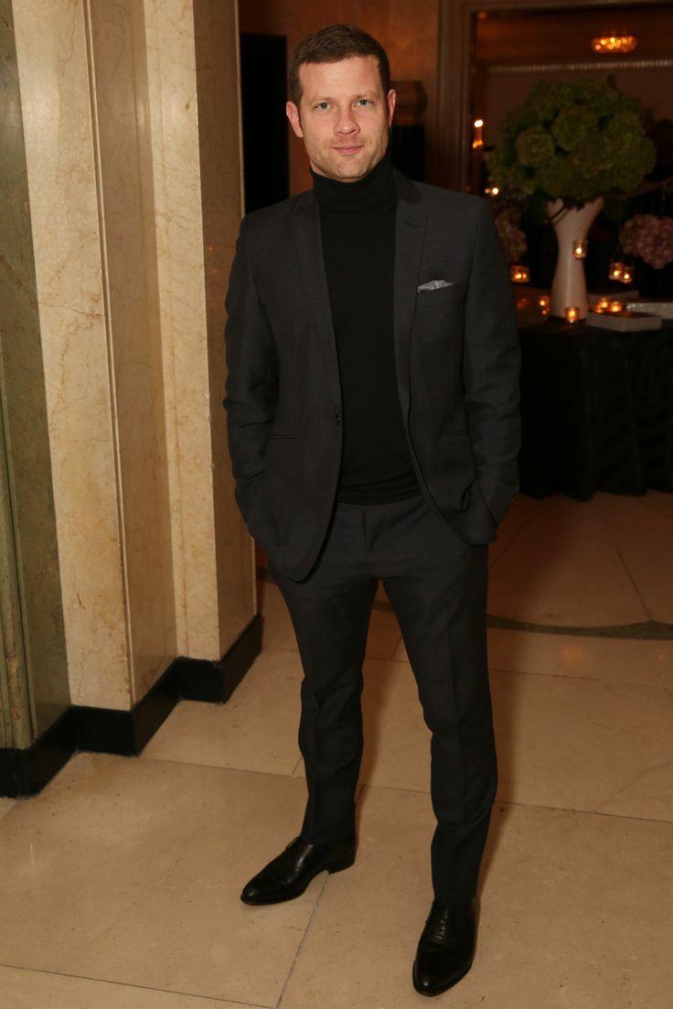 black suit black shoes - photo #25