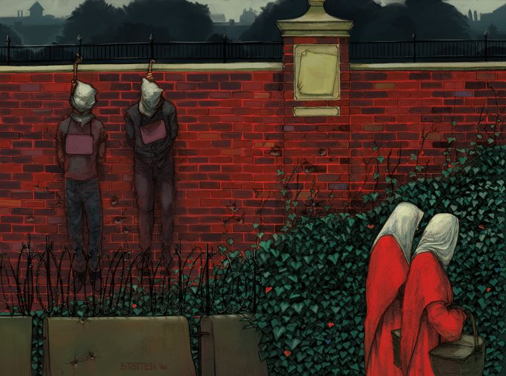 handmiads tale The new hulu television series the handmaid's tale remains in many ways  faithful to margaret atwood's dystopian novel both the show and.