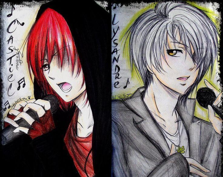 Castiel and Lysandre (Magnet 8D) by sakura-streetfighter.deviantart.com on @deviantART