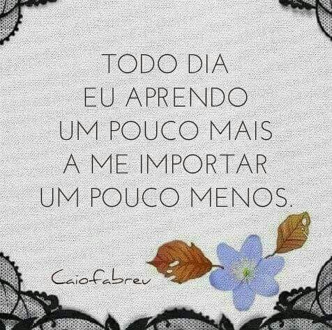 Me importar menos. Caio Fernando Abreu