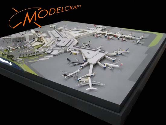 1:500 Sydney Airport. Architectural Model by Modelcraft (NSW) Pty Ltd