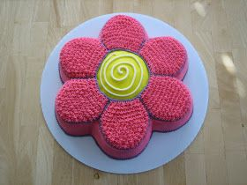 Cute Flower shaped cake!