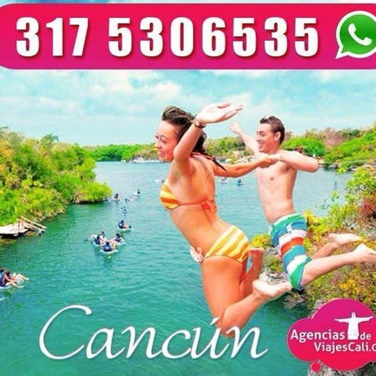 Viajes a Cancún y más destinos todo incluido desde Cali.  Te asesoramos vía whatsApp 57 3175306535  Vive unas vacaciones de locura en este maravilloso destino. #viajar #cali #planestodoincluido #playa #mar #vacaciones