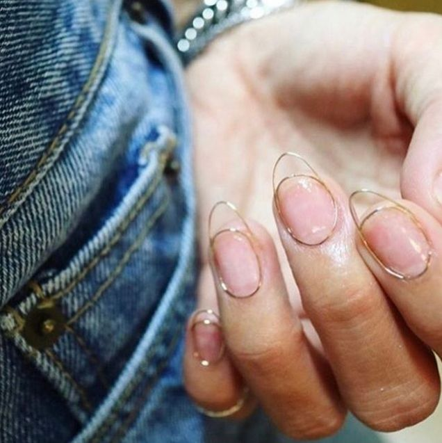"""A South Korean salon has introduced the futuristic-looking """"wire nails"""" trend to the world, and it's pretty freaking cool."""