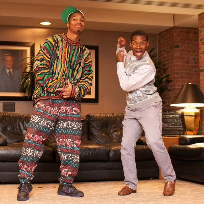 Fresh Prince and Carelton. View more EPIC cosplay at http://pinterest.com/SuburbanFandom/cosplay/