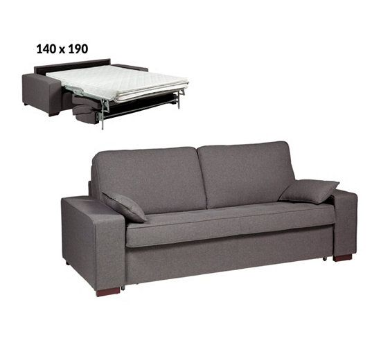25 best ideas about canap convertible 3 places on pinterest. Black Bedroom Furniture Sets. Home Design Ideas