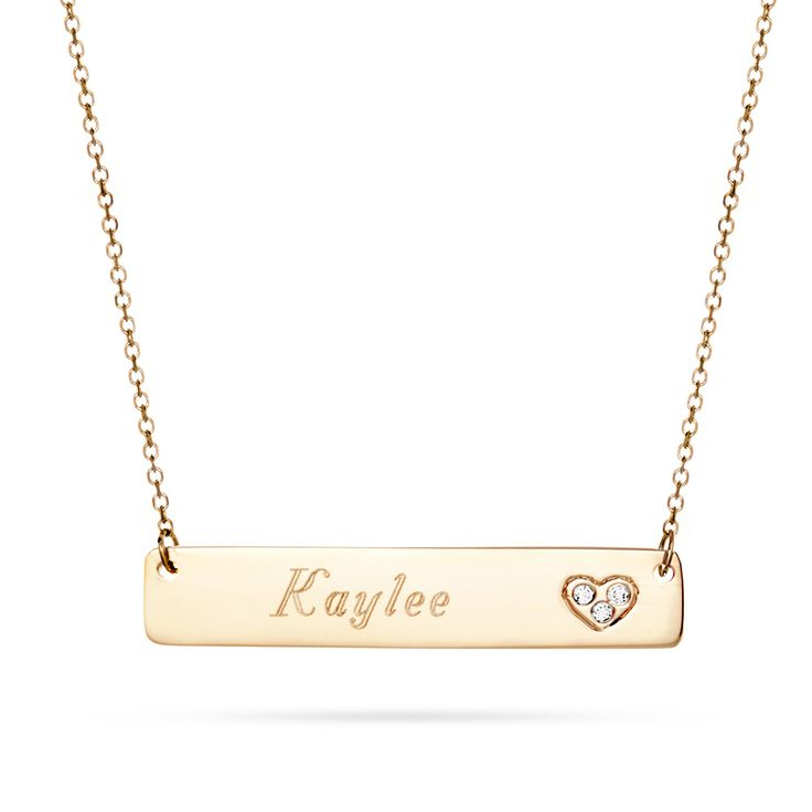 17 Best Ideas About Nameplate Necklace On Pinterest