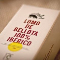 Medio Lomo de bellota 100% ibérico Cerdoh!