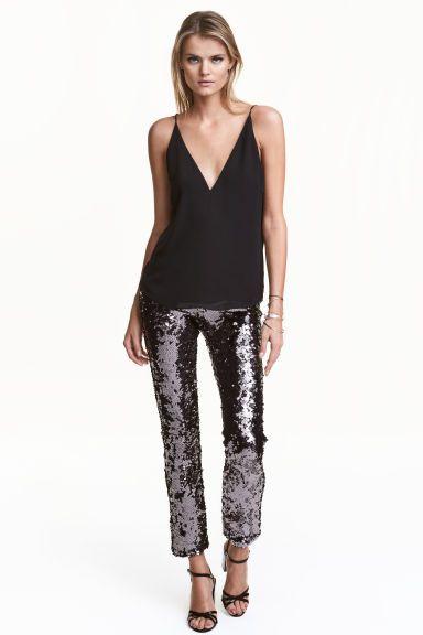 Pantaloni di paillettes | H&M