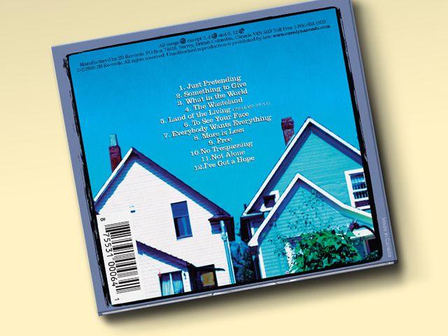 "CD Packaging:Carolyn Arends — ""Pollyanna's Attic"" - Flink Creative"
