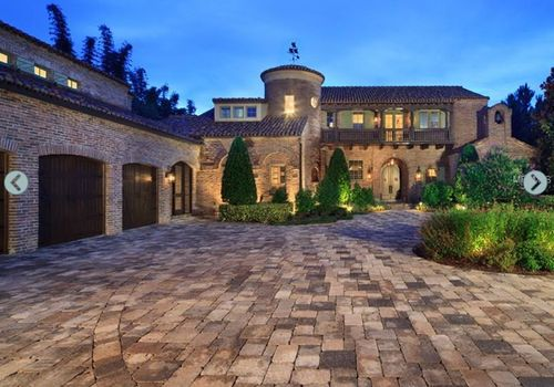 Mansion in windermere fl nice driveway and 6 for Nice big mansions