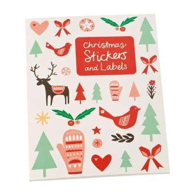 DIY Christmas Sticker Book $19.95 - Reindeers, woollen mittens, pine trees, bright stars, love hearts and soft falling snow. Who doesn't love Christmas?