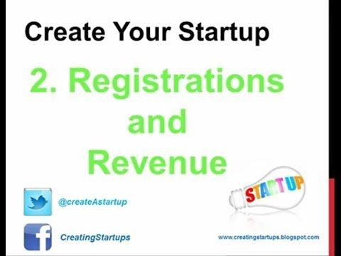 How to Make Money - Company Tender Registration and Revenue Services - http://create-A-startup.com - Create Your Startup Company - Entrepreneurs Resource - Company Creation and Business Models