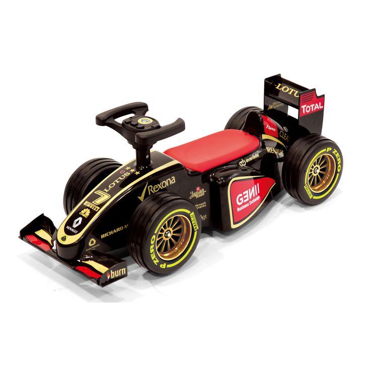 Lotus F1 Foot-to-Floor Ride on Car