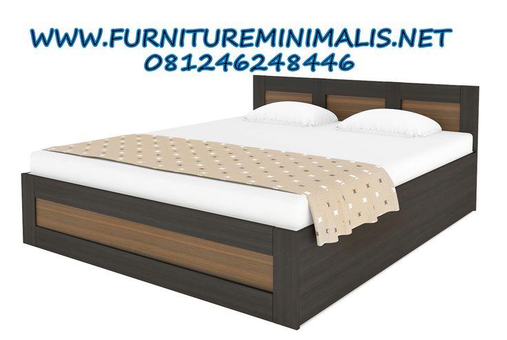 Tempat Tidur Minimalis Sederhana Pengantin Baru | Kamar Tidur Utama - Furniture Minimalis Jepara