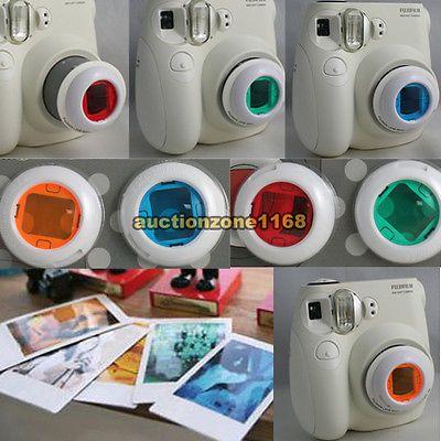 4 Colors Filter Close Up Lens For Fujifilm Instax Mini 8 7s Film
