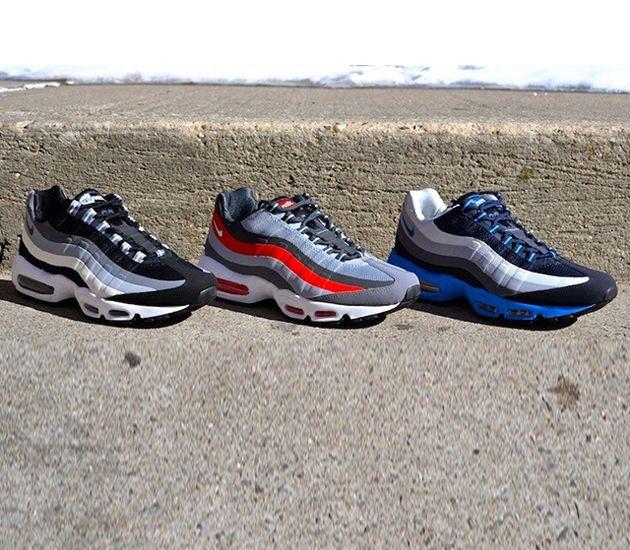 Nike Air Max 95-No Sew Triple Pack