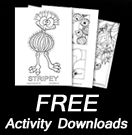 Free Stripey Downloads - Wendy Binks