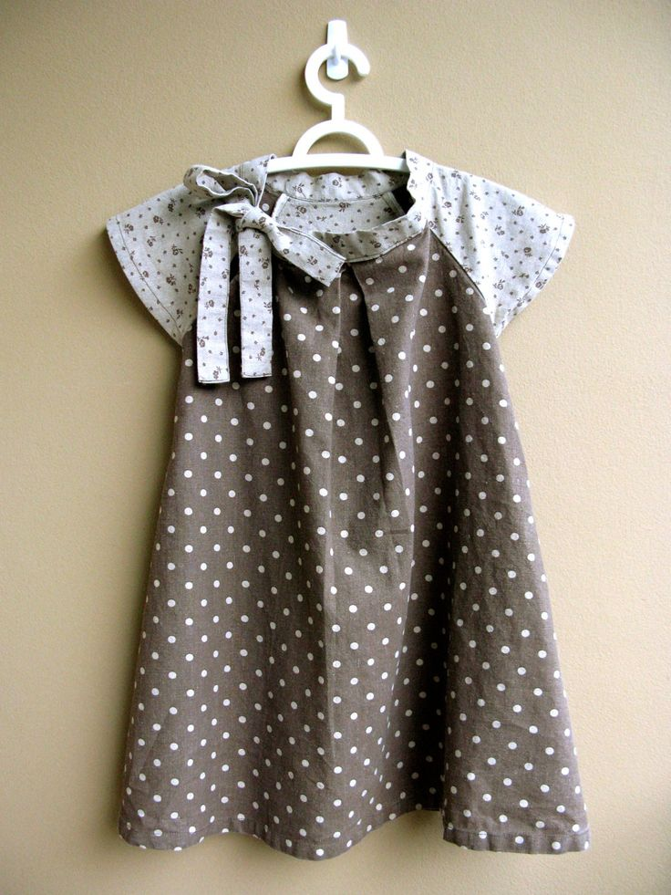 PDF Pattern - Cecelia Dress for 4 - 10 years old and tutorial.. $5.95, via Etsy.
