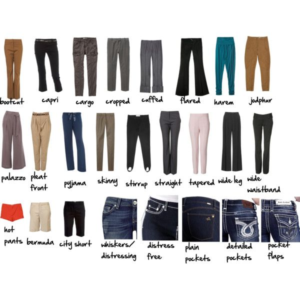 31 Lastest Types Of Pants For Women