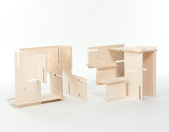 Organic Natural Wood Architect Play Set // от manzanitakids