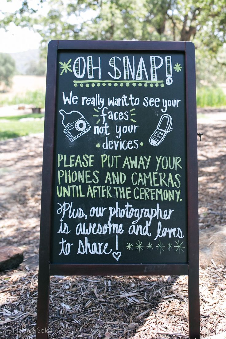 """Unplugged wedding ceremonies are on the rise. As couples look to celebrate their special day, they want to remember moments with friends and family by practicing being """"in-the-moment"""" and asking guests to ditch their cameras and phones."""