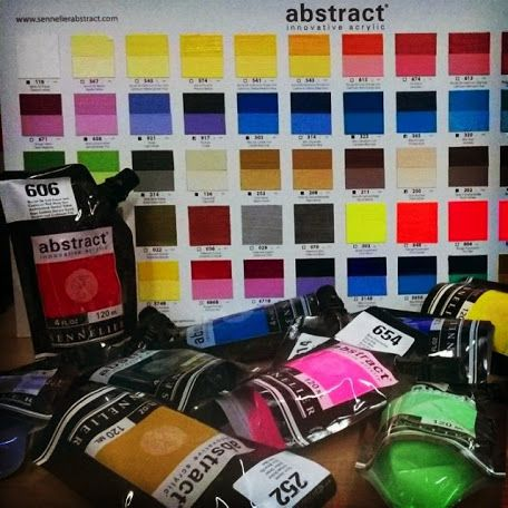 Immagine a whole new way of #painting  ! One that comes in a packaging which is innovative, elegant, handy and feels right. #thisisabstract   Innovative acrylic Sennelier  Now available @ Colour Academy   #fineart   #bari   #puglia   #italy    Seguici anche su #instagram  @fineartshopbari
