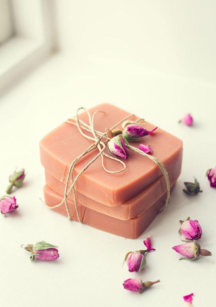 DIY – Tvål med Rosa Lera